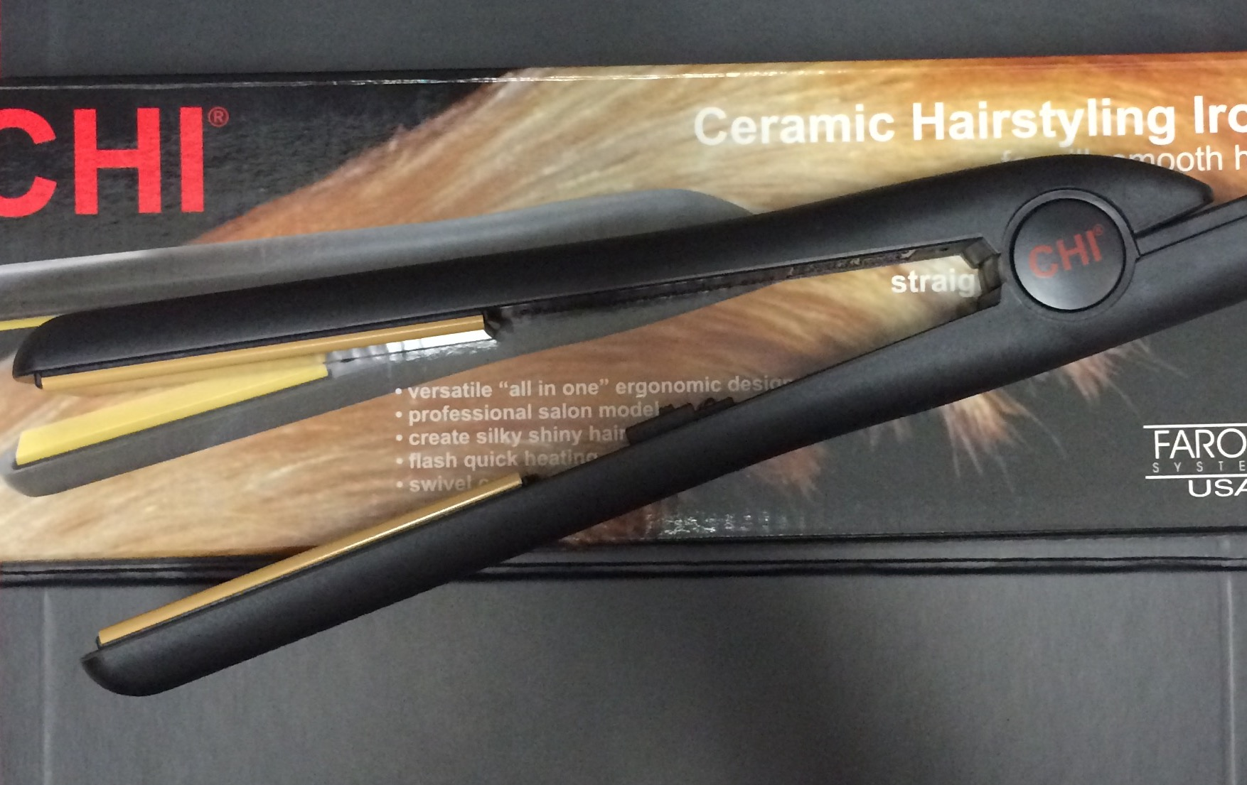 Chi Ceramic Hairstyling Flat Iron