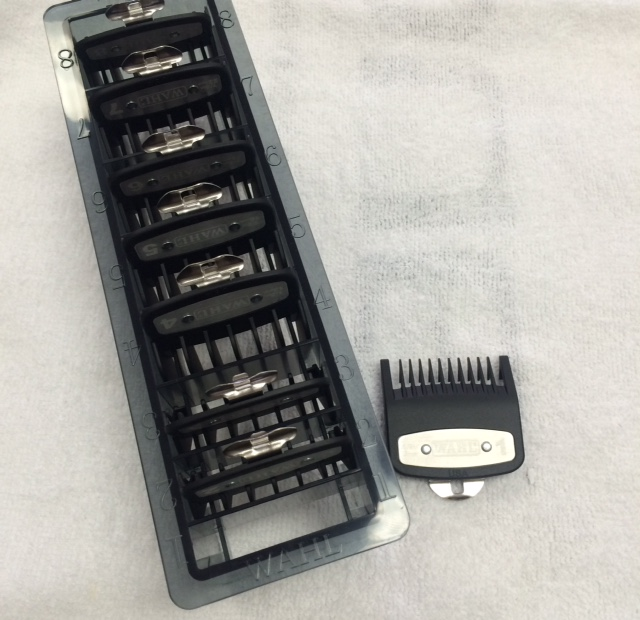 Wahl 8pc Premium Guide Set with Comb Organizer - 3171-500