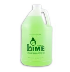 GABELS DROPS OF LIME AFTERSHAVE 128OZ/1 GALLON 467