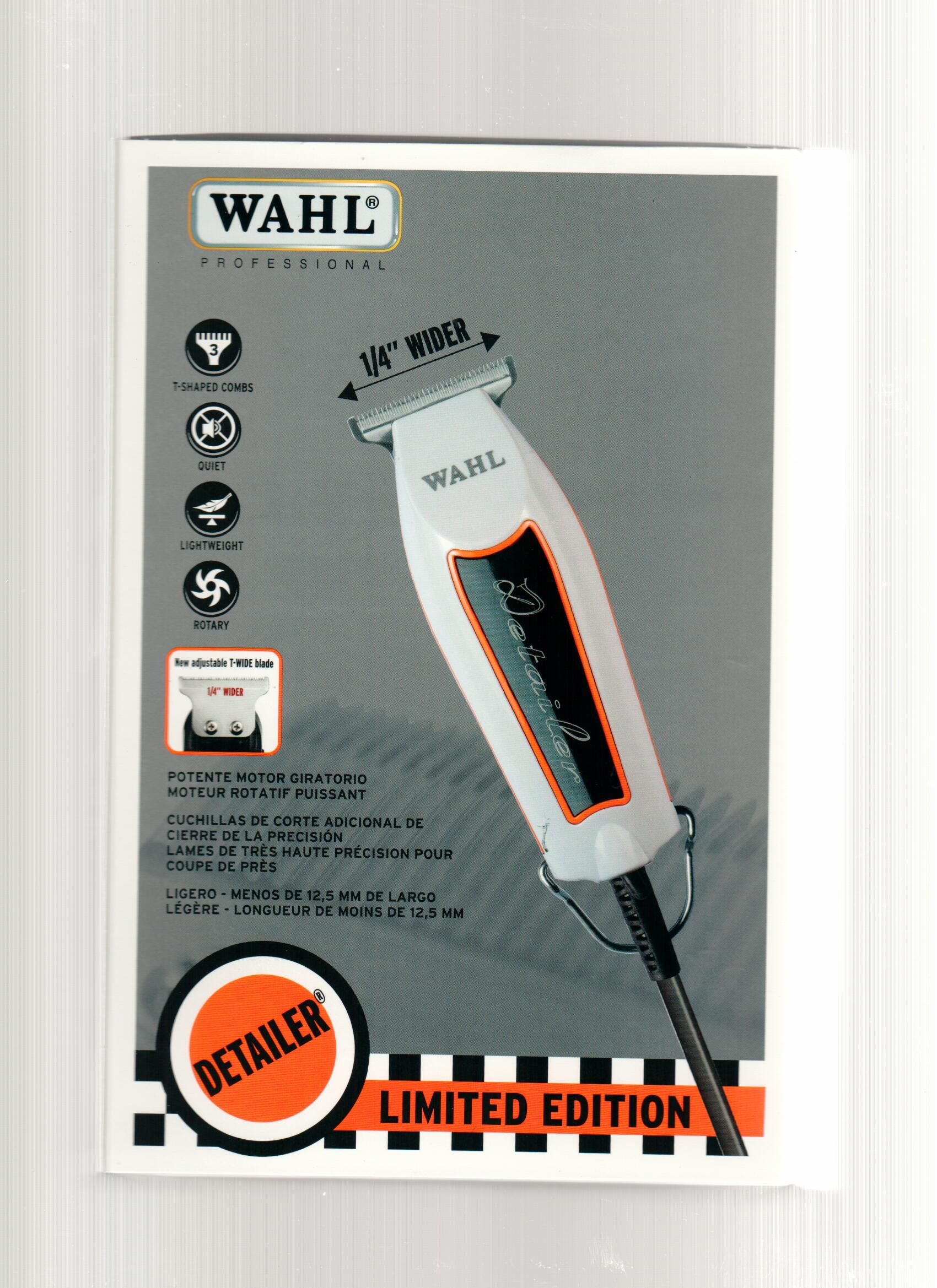 Wahl Limited Edition Racer Detailer 8290-100