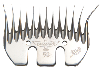 Lister Buzzard 3.5 Full Thickness Shearing Comb 5-Pack 228-13260
