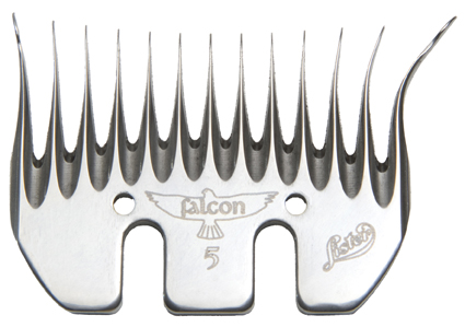 Lister Falcon 5 Full Thickness Shearing Comb 5-Pack #228-13280