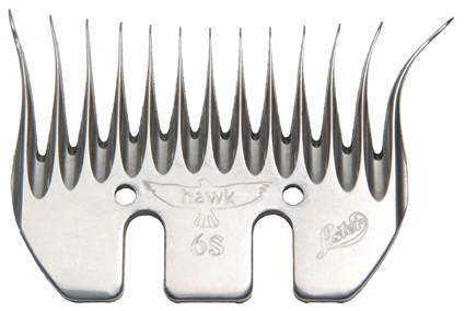 Lister Hawk 6S Slick Run-in Comb 5-Pack #228-13200