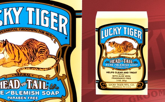 Lucky Tiger Acne & Blemish Soap - 6438