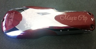 Wahl 5 Star Magic Clip Cover lid Silver / Burgundy 2898