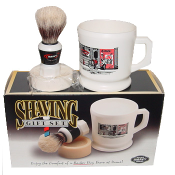 Marvy 3-Piece Shaving Gift Set