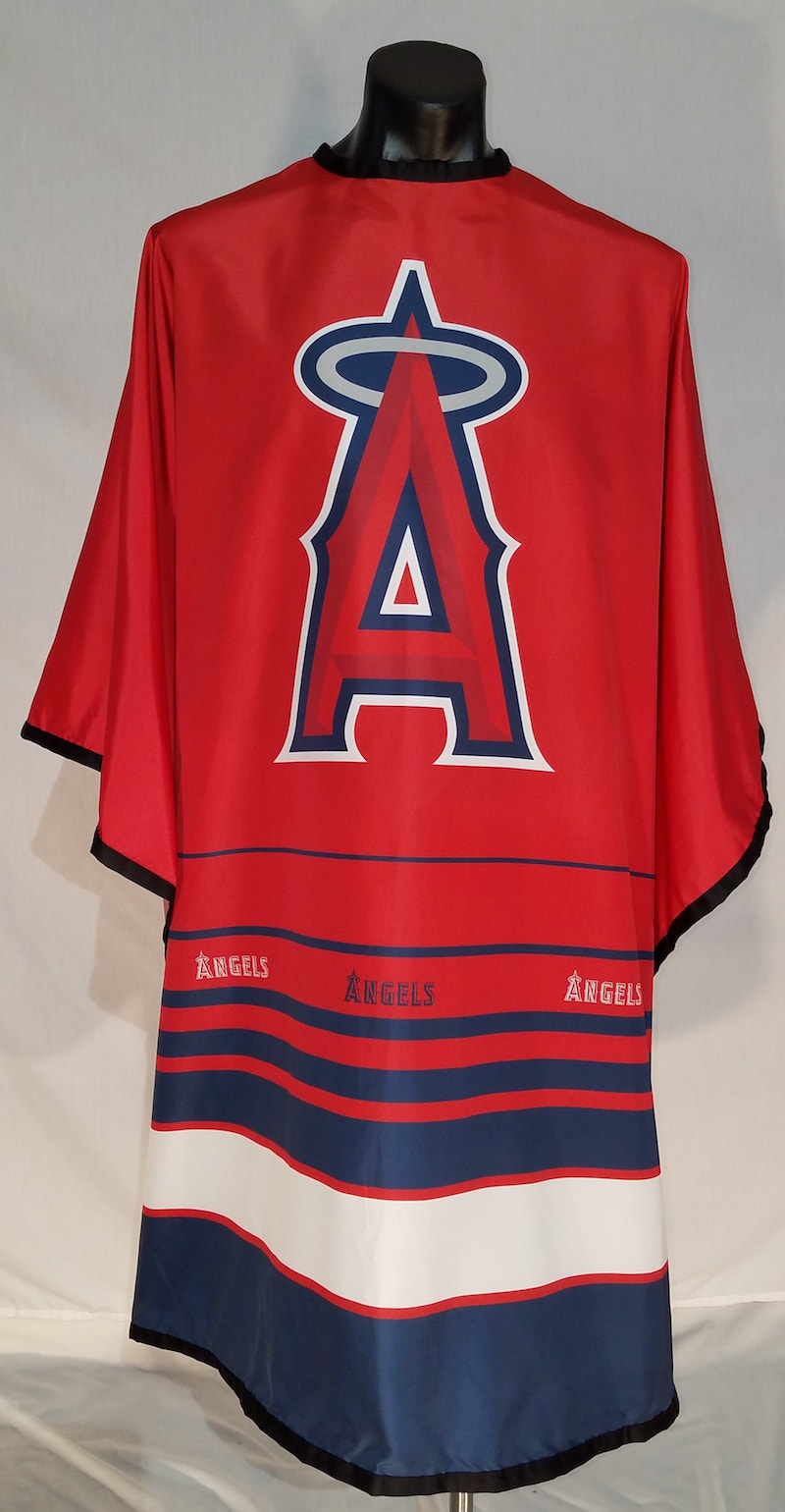 MLB Licensed Los Angeles Angels Cutting Cape