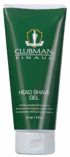 Clubman Head Shave Gel 6oz - 7202