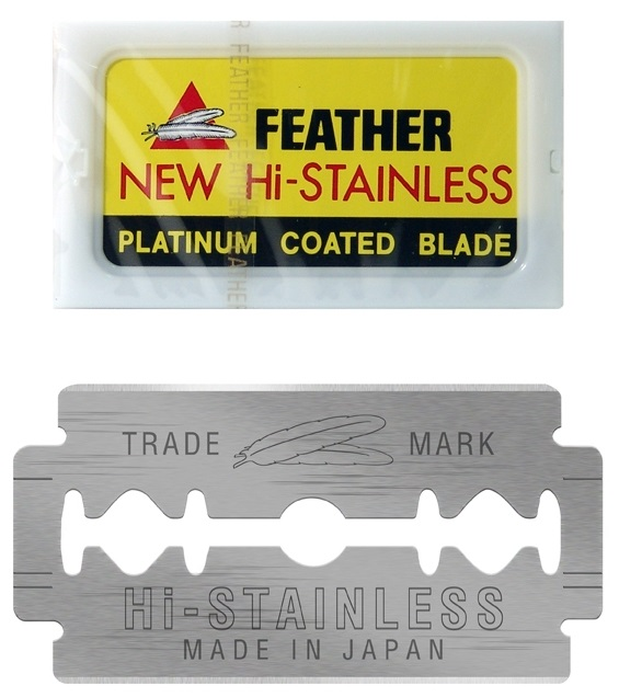 Feather Double Edge Replacement Blades 10-Pack