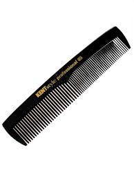 Kent Handmade Fine Toothed Pocket Styling Comb - SPC85