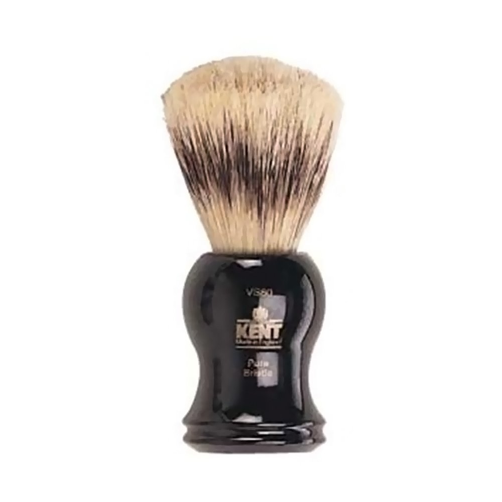 Kent Pure White Bristle Shaving Brush - VS60