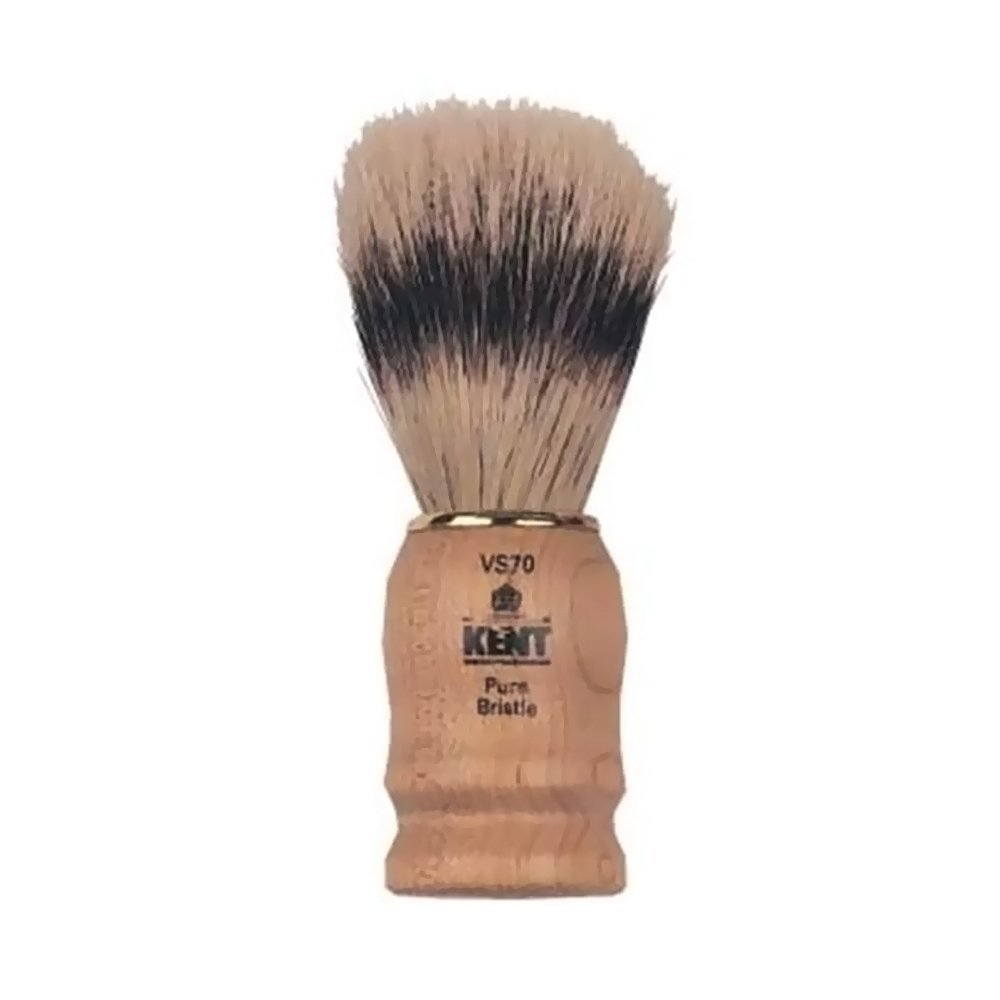 Kent Wooden Socket Pure Bristle Brush - VS70