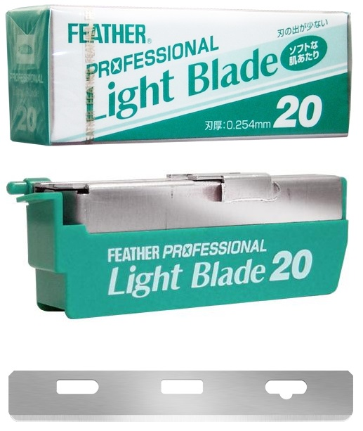 Feather Artist Club Razor Replacement Blades 20PK Light .254mm