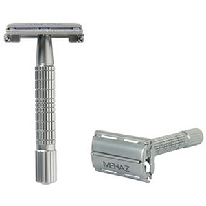 Mehaz Double Edge Safety Razor Butterfly Handle #MC1197