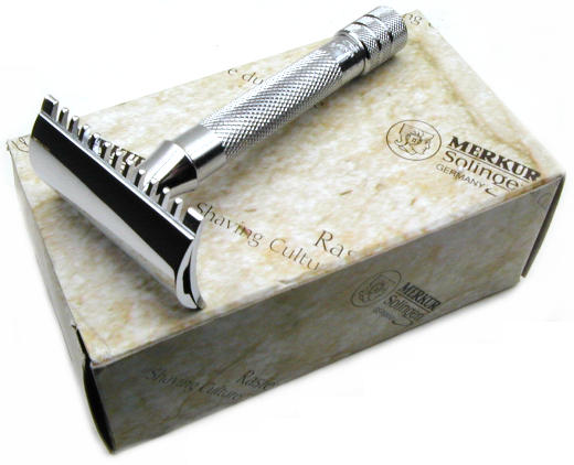 Merkur Solingen Double Edge Razor Short Handle #MK333C