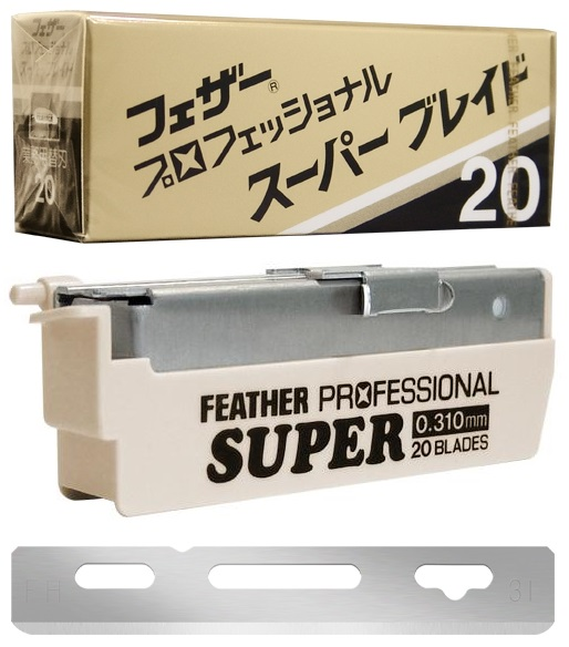 Feather Artist Club Razor Replacement Blades 20PK Super .31mm