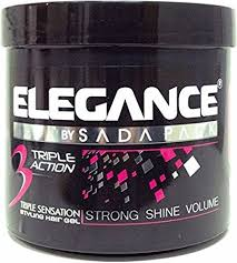 Elegance by SADA PACK Triple Action Gel Strong Hold Elg004