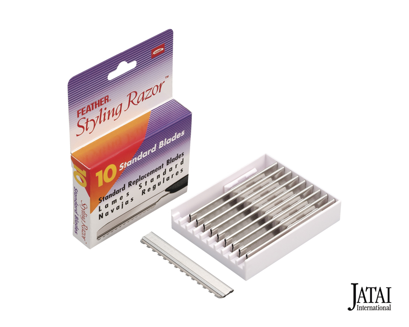 Feather Styling Replacement Blades 10-Pack #F1-20-100