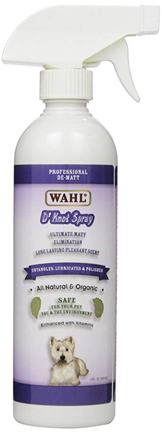 WAHL D'KNOT DETANGLING & DEMATTING SPRAY 17 0Z 5049